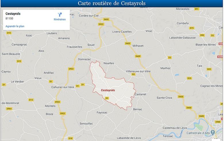 Cestayrols et ses environs