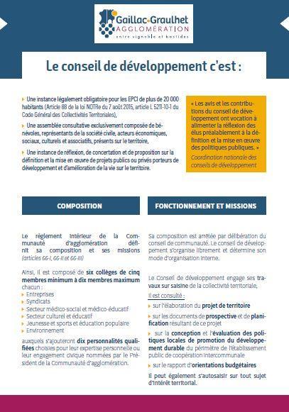 Conseil de developpement1