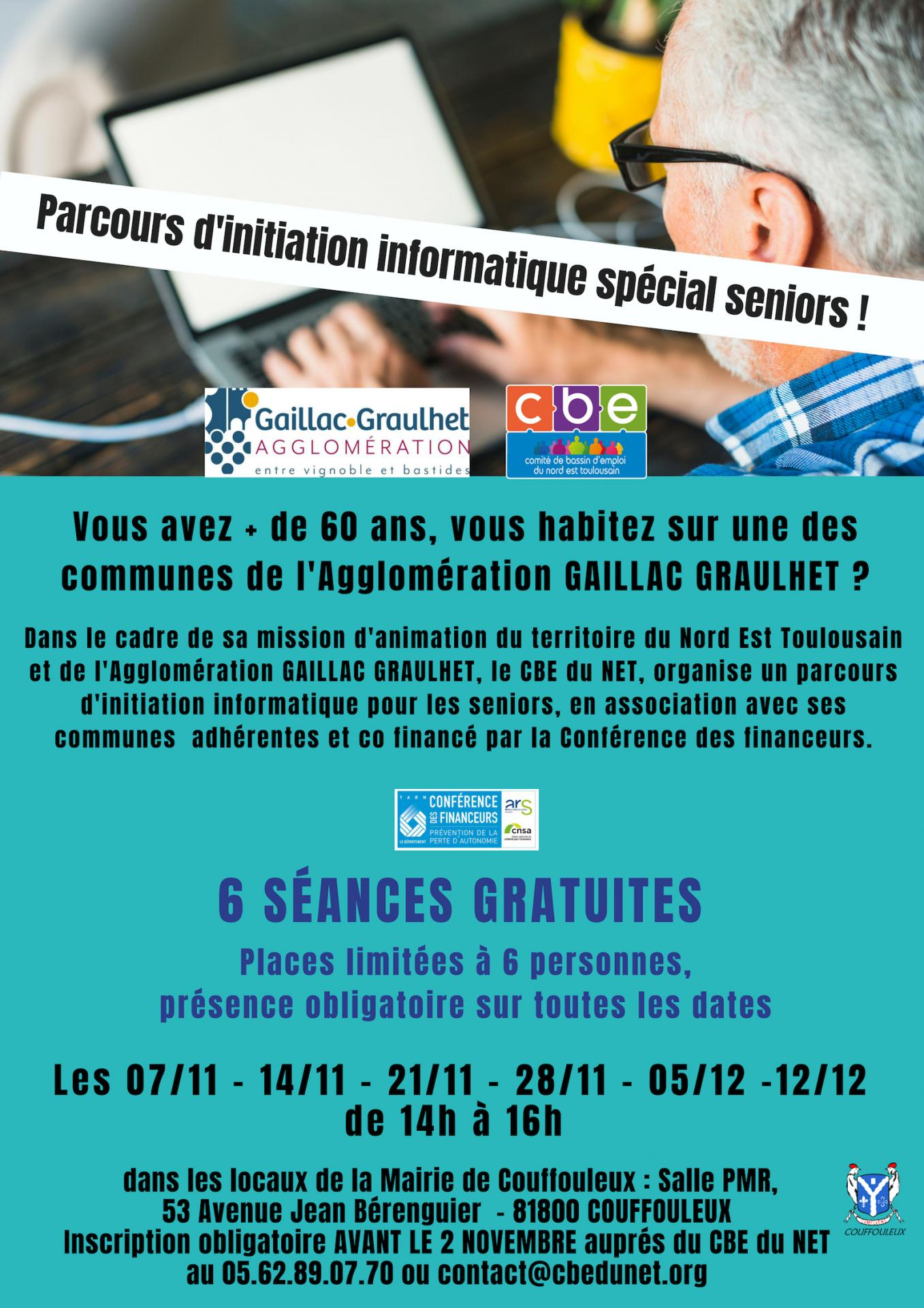 Initiation informatique seniors