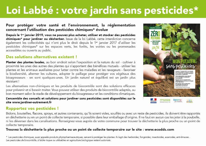 Pesticides 2019