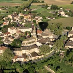 Vue aérienne de Cestayrols